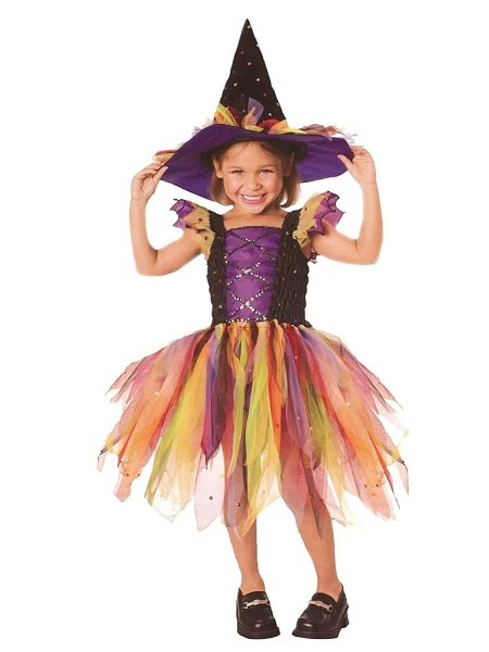 Amazon Com  Let's Pretend Child's Glitter Witch Costume, Toddler