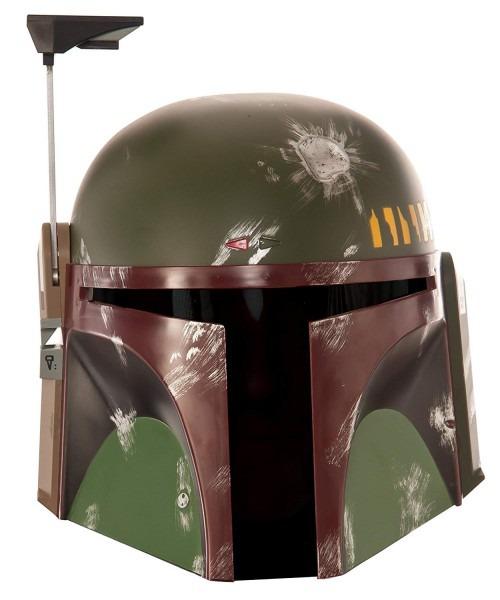 Rubie's Men's Star Wars Boba Fett Costume Helmet Deluxe Mask, One