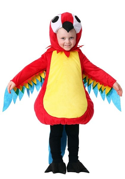 Amazon Com  Toddler Squawking Parrot Costume  Clothing
