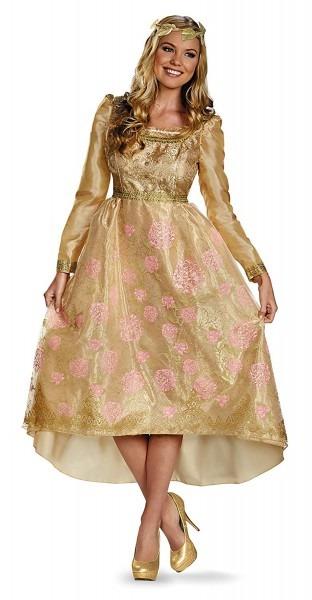 Amazon Com  Disney Maleficent Aurora Coronation Gown Adult Deluxe