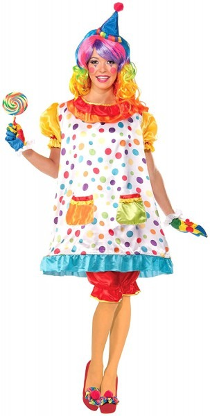 Amazon Com  Forum Novelties Women's Wiggles The Clown Costume