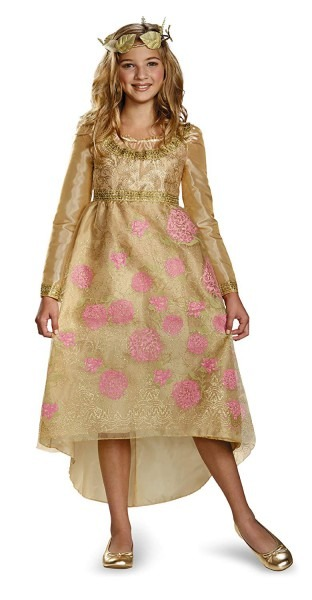 Amazon Com  Disney Maleficent Movie Aurora Coronation Gown Girls