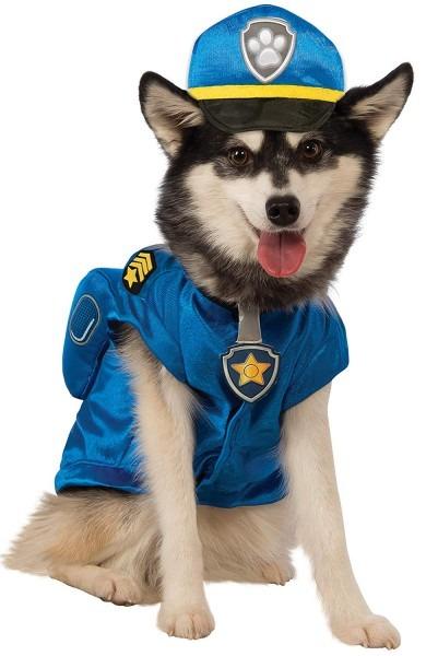 Amazon Com   Paw Patrol Chase Dog Costume   Pet Supplies