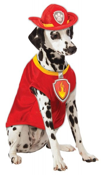 Amazon Com   Paw Patrol Marshall Dog Costume   Pet Supplies