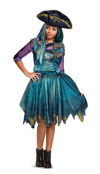 Amazon Com  Disney Uma Classic Descendants 2 Costume, Teal, Medium