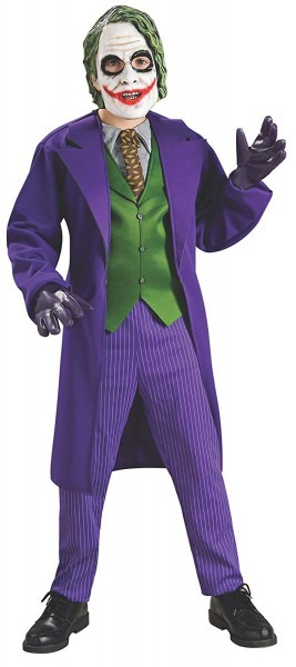 Amazon Com  Batman The Dark Knight Deluxe The Joker Costume