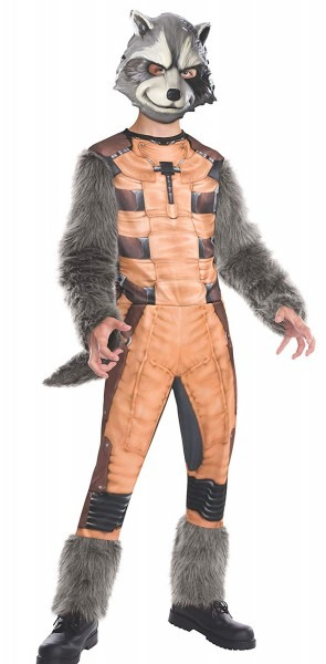 Amazon Com  Rubies Guardians Of The Galaxy Deluxe Rocket Raccoon