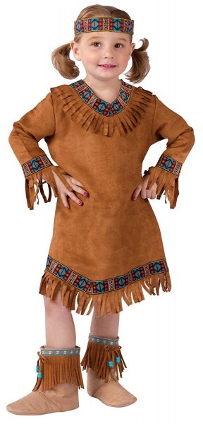 Amazon Com  Fun World Costumes Baby Girl's Native American Toddler