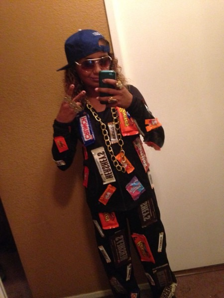 Gizelle's Costume  Candy Rapper