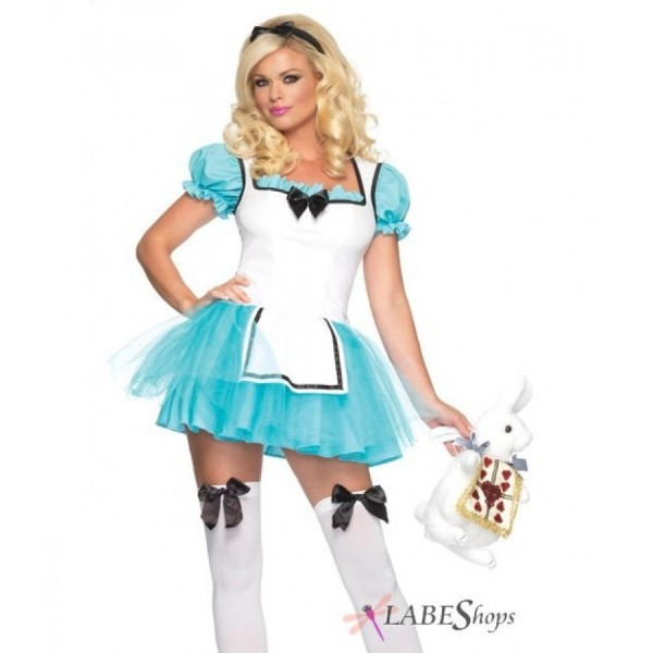 Enchanted Alice In Wonderland Halloween Costume