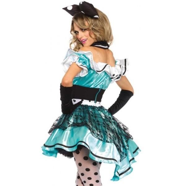 Delightful Alice Wonderland Womens Halloween Costume