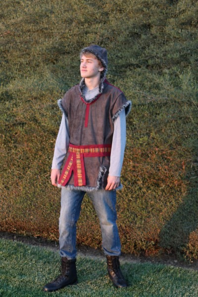 Kristoff Themed Costume From Disney's Frozen, Renaissance Faire