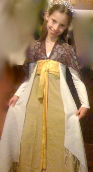 Easy, No Sew Renaissance Princess Costume  Step By Step