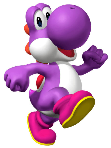 Purple Yoshi By Yoshigo99 Deviantart Com On @deviantart