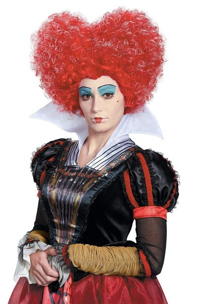 Amazon Com  Dis10219 181 Red Queen Of Hearts Wig  Clothing