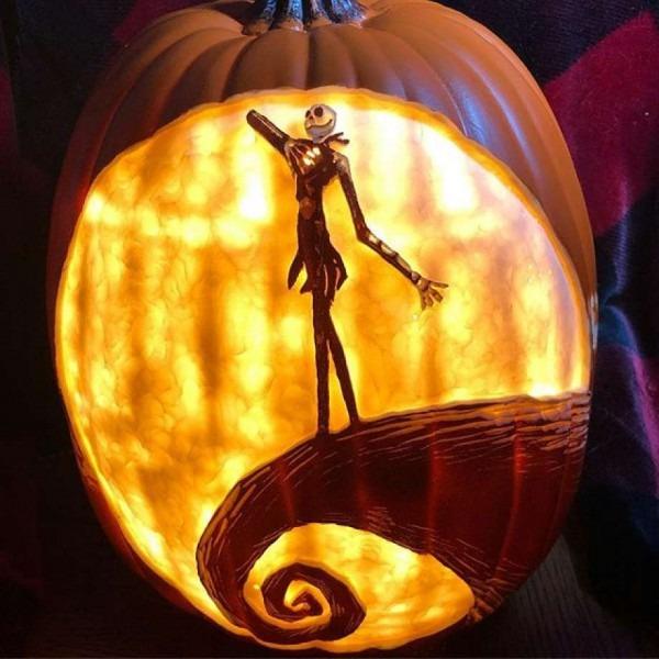 Pumpkin Carver Creates 'nightmare Before Christmas', Harry Potter