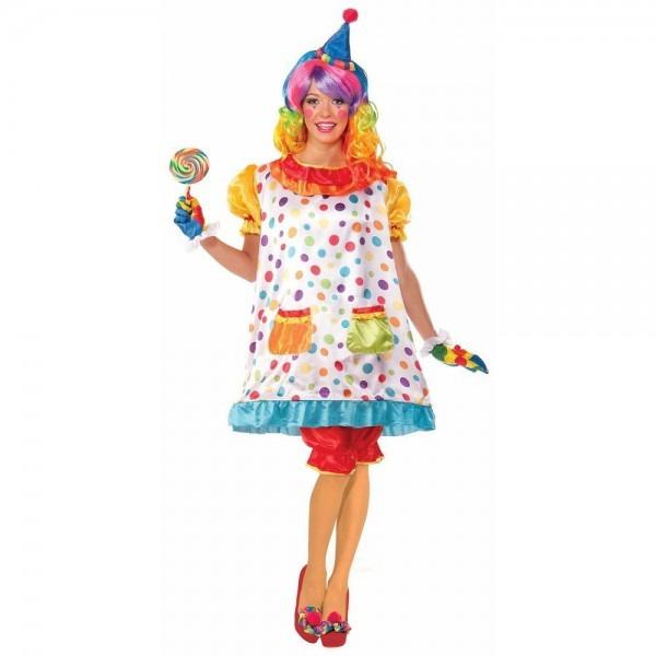 Wiggles The Clown Costume Halloween Fancy Dress
