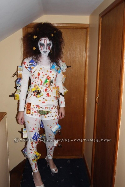 Scary Cereal Killer Costume Best Party Supply