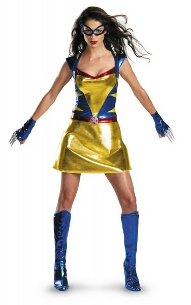 Adult Daughter Of Wolverine Female Costume By Moviecostumes4u Com