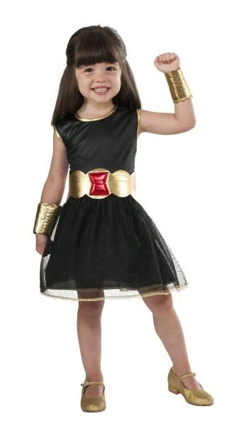 Avengers Age Of Ulton Black Widow Child Costume Size 2t