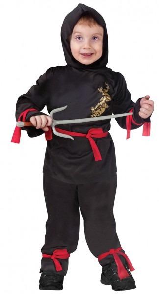Ninja Toddler Costume &  Easy Teenage Mutant Ninja Turtle