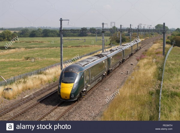 A Class 800 Iet (intercity Express Train) Number 800023 Working A