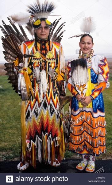 Nez Perce Costume Stock Photos & Nez Perce Costume Stock Images