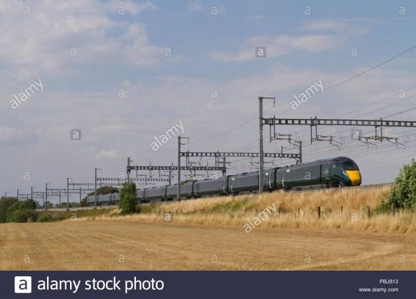 A New Class 800 Iet (intercity Express Train) Number 800305