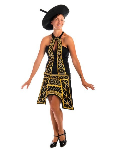 French Eiffel Tower Costume