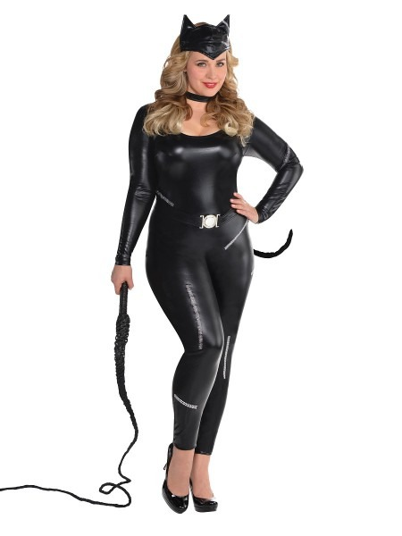 Adult Plus Size Purrvocative Kat Costume