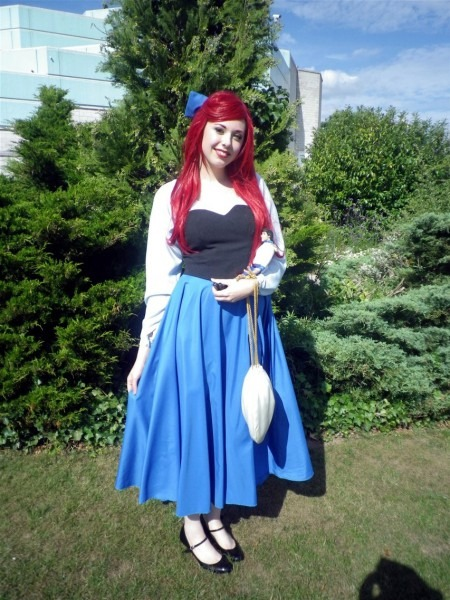 Ariel Blue Dress Costume Images Pictures Becuo, Ariel Gown Costume
