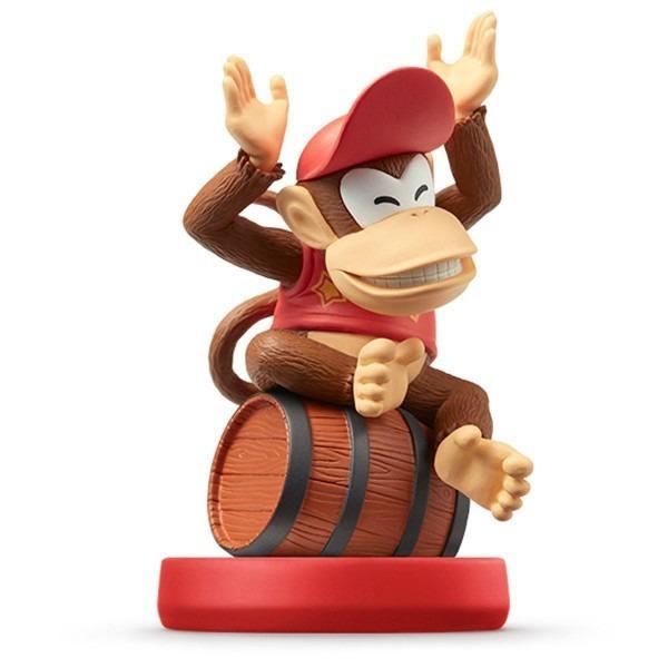 Nintendo Amiibo Super Mario Bros  Diddy Kong 3ds Wii Accessories