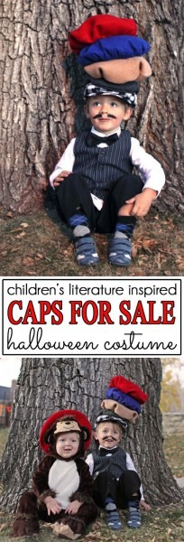 Seasonal Style}  Caps For Sale  Halloween Costume + 17 More Diy