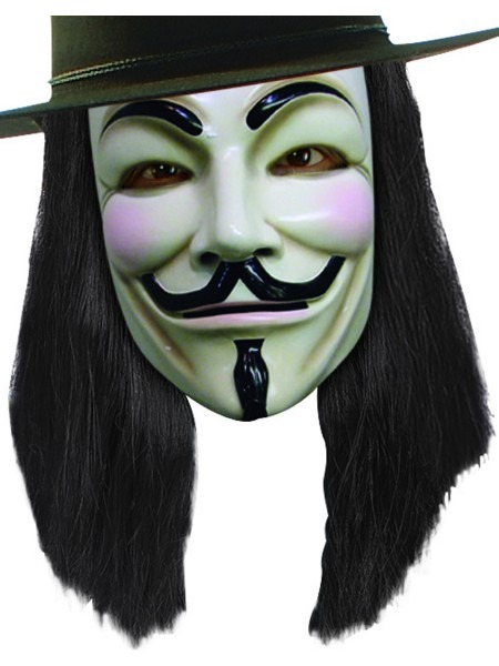 Adult V For Vendetta Wig