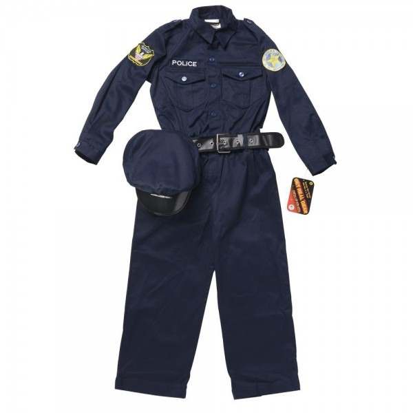 Aeromax Jr  Police Officer Suit Costume