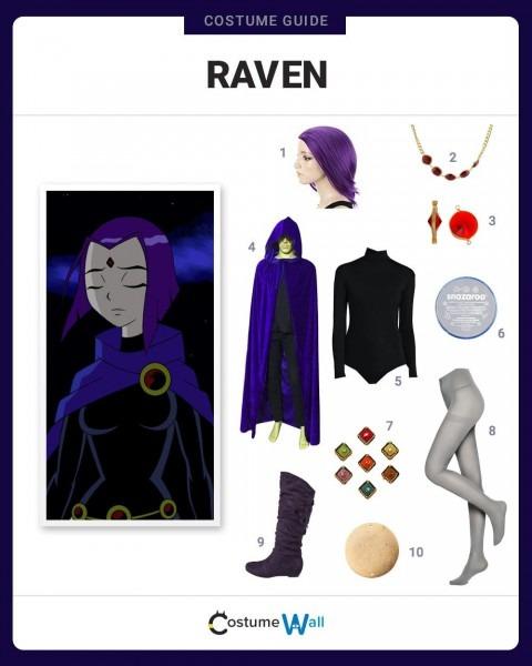 Dress Like Raven