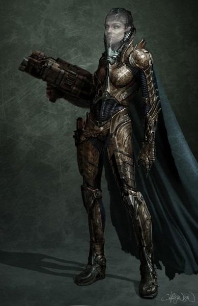 Man Of Steel  Kryptonian Costume Designs For Jor