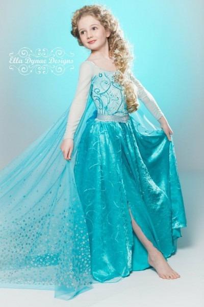 Little Girl Frozen Elsa Halloween Costume That Are Popular In 2015