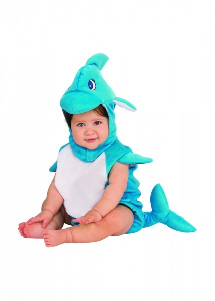 Baby Blue Dolphin Costume