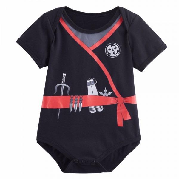 Baby Boy Ninja Costume Bodysuit Newborn Infant Party Playsuit