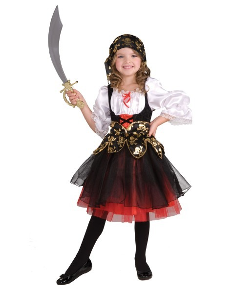Pirates Costume For Girls & Pirate Costume For Girls