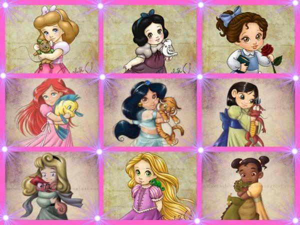 Princesses Disney Images Baby Princess Hd Fond D'écran And