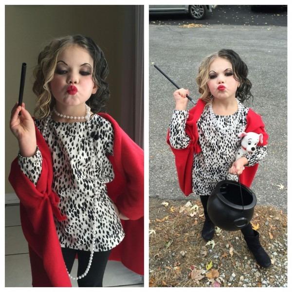 Cruella Deville Children's Costume  My Girl Nailed It