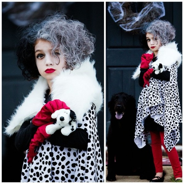 Cruella Deville Diy Kids Costume  I Made This For My Daughter And