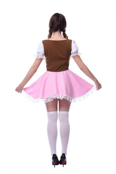 Lemail Womens Plus Size Oktoberfest Fraulein Costumes Bavarian