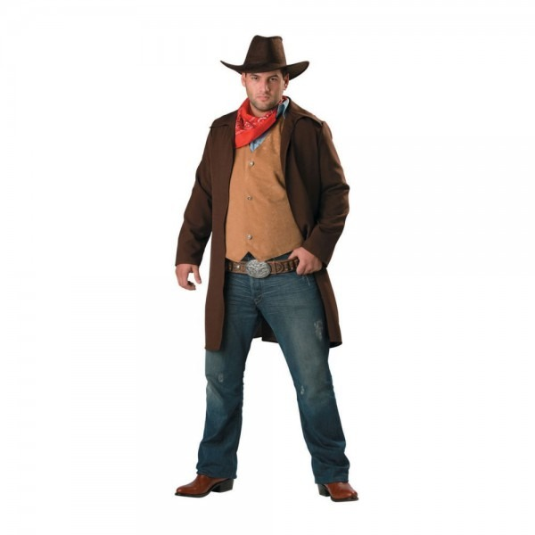 Rawhide Renegade Plus Size Halloween Costume For Men