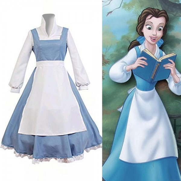 Belle Blue Dress Adult – Disney Beauty And The Beast Costume