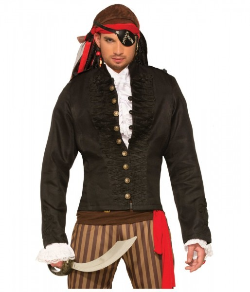 Black Pirate Mens Jacket