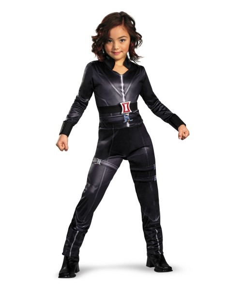 Black Widow Kids Movie Superhero Costume