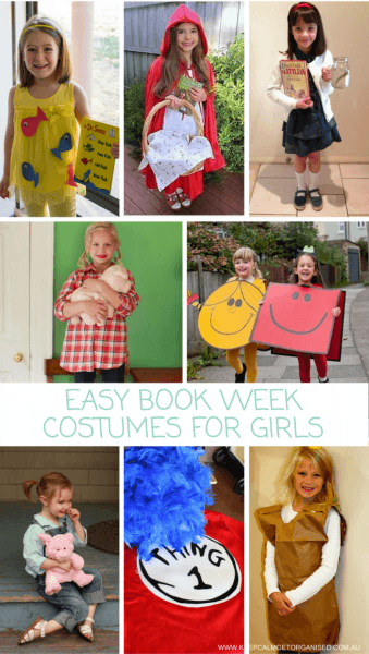 Easy Book Week Costumes For Girls